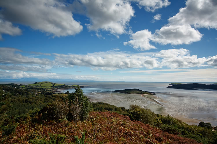 View across Kippford Estuary