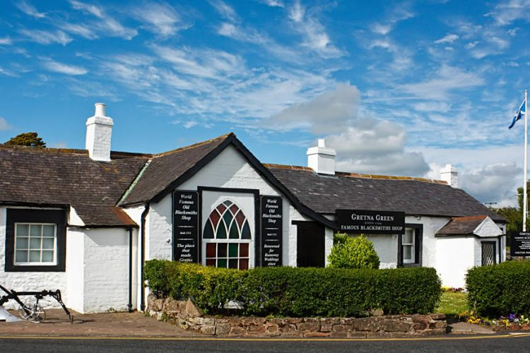 Old Blacksmiths Shop Gretna Green